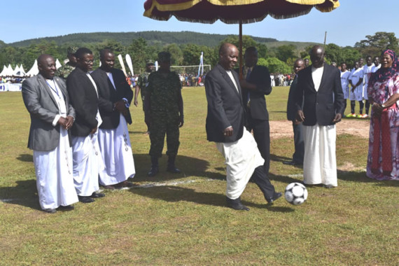 Kabaka Mutebi opens the 2017 Bika Football Tournament, Ngeye knocks Mbogo out